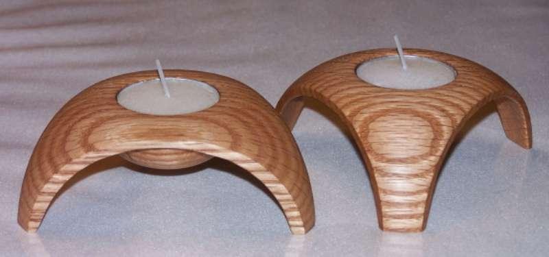 New companion video - Triangle Tea Light : Wood Turning ...