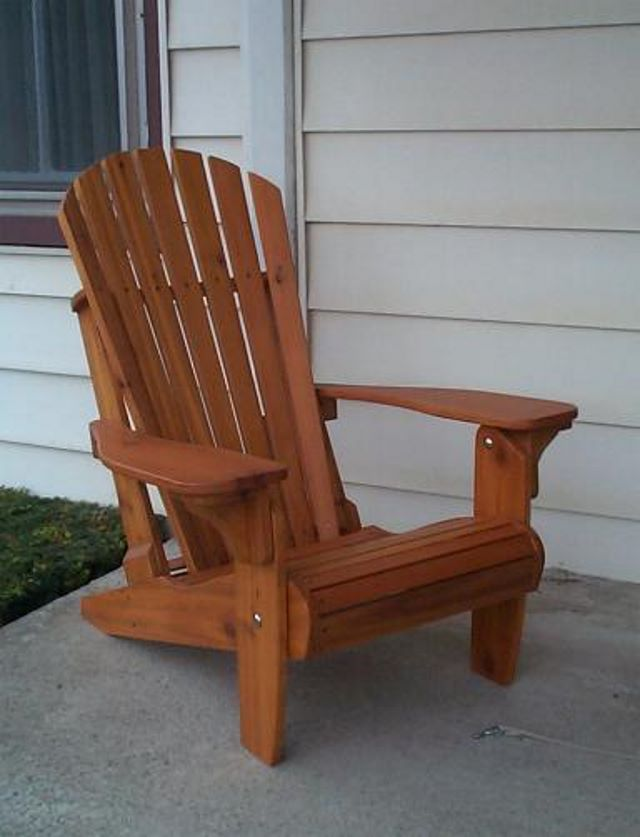 Diy minwax adirondack chair plan plans free - Patterns for adirondack chairs ...